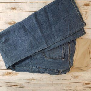 Old Navy Maternity Full Panel Boot Cut Jeans